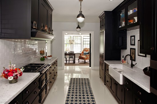 Kitchen designed by Amy Beth Cupp Dragoo of ABCD Design, as featured in the Wall Street Journal.