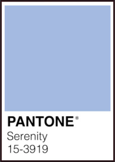 Serenity, Pantone color 15-3919, one of the firm's 'Colors of the Year' for 2016. | Image courtesy of Pantone.