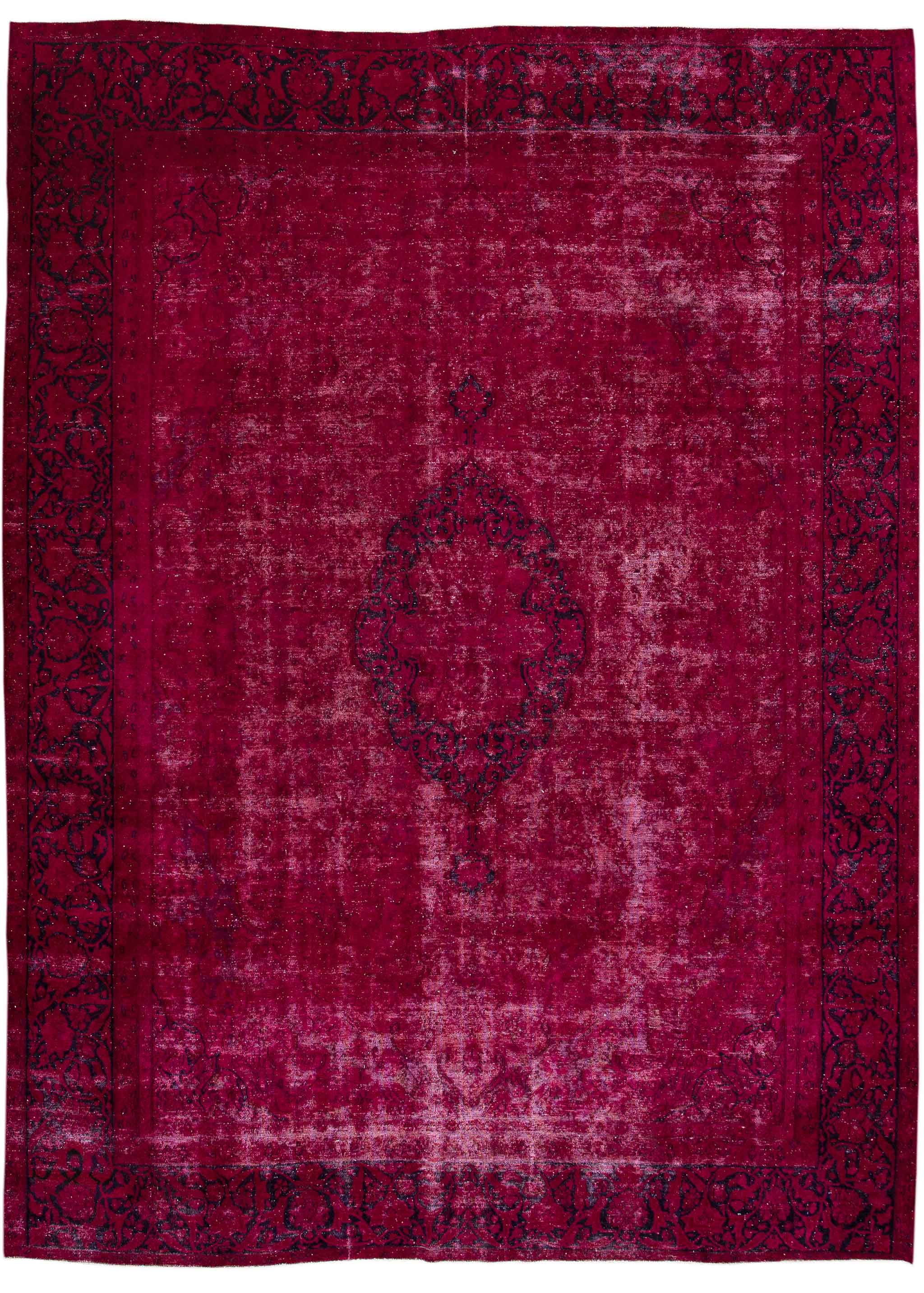 Overdyed carpet from Apadana | Image courtesy of Apadana