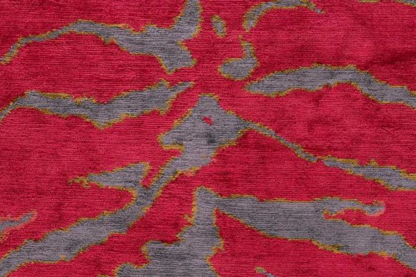 Tiger shown in colour Pink by Joseph Carini Carpets - 100% silk handknotted in Nepal. | Image courtesy of Joseph Carini Carpets. - Tiger Carpets on The Ruggist