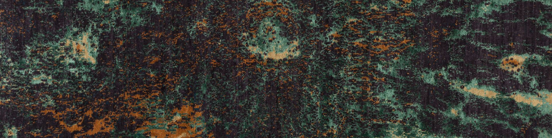 Moonscape shown in colour Malachite by Tufenkian   Image courtesy of Tufenkian   The Ruggist