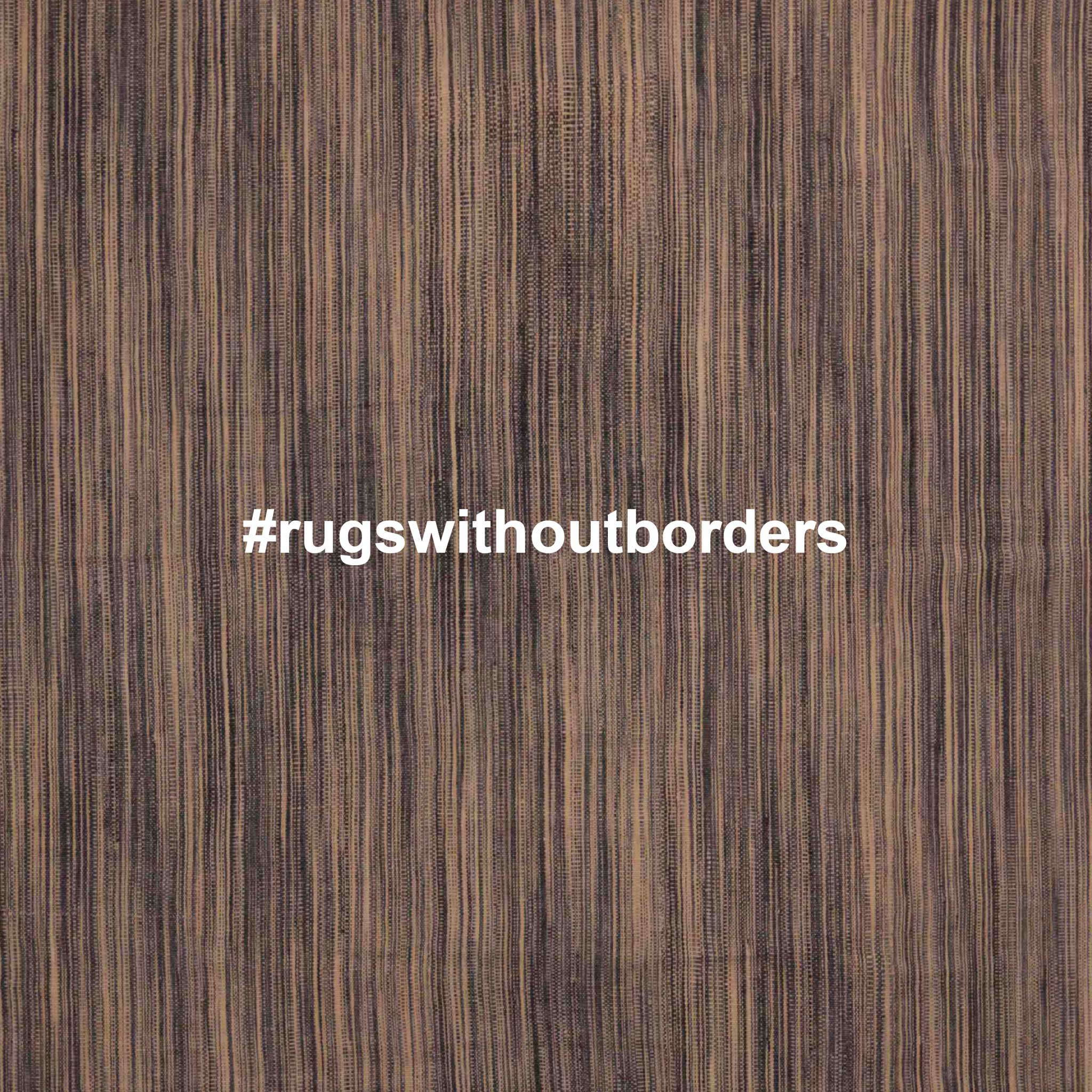 #rugswithoutborders - A social media campaign to raise awareness of the interconnected nature of our world. | Rug image: Edelgrund's Massal Collection. Image courtesy of Edelgrund.