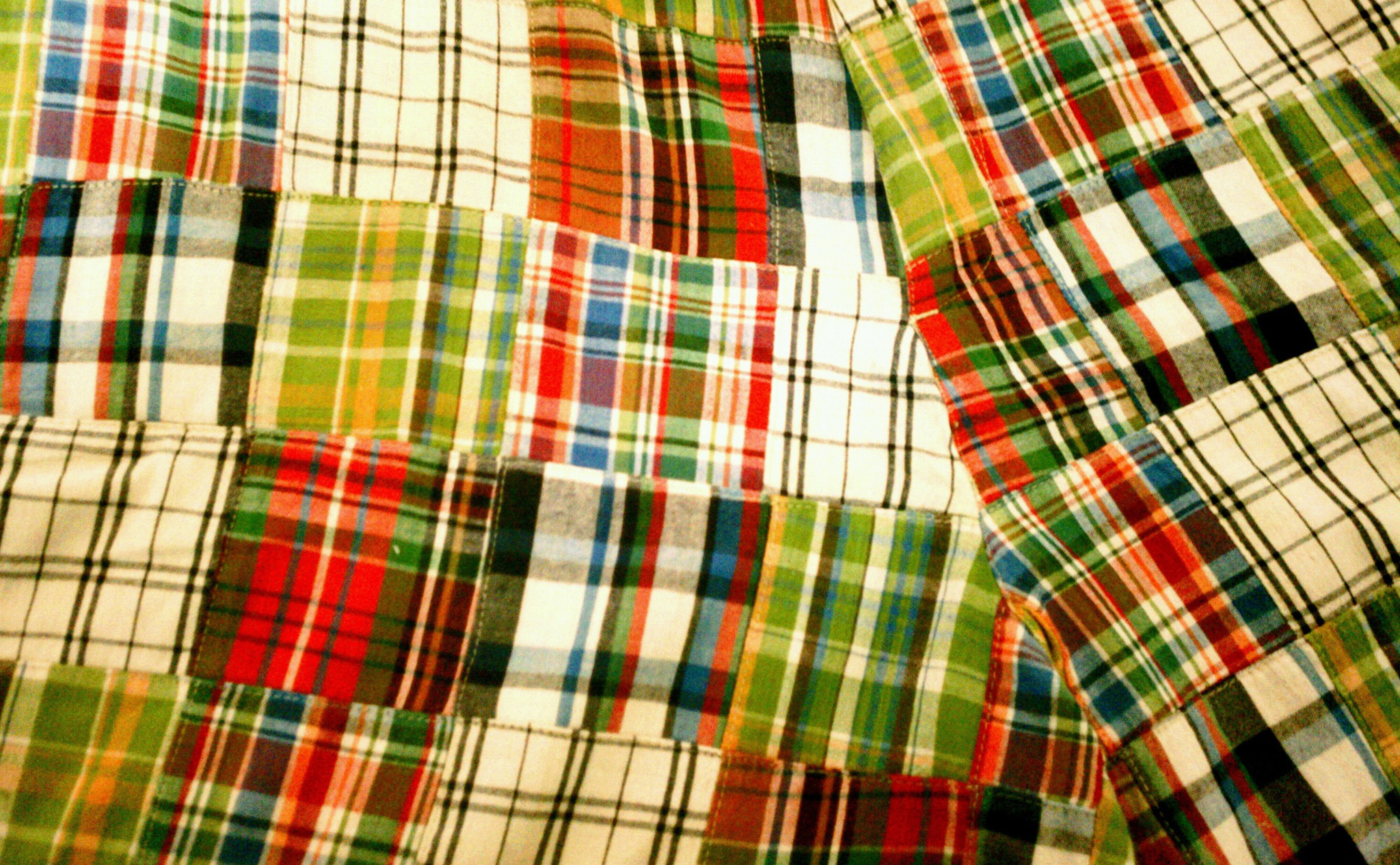 Madras Plaid has been used in clothing for generations. Shown here in detail is a pair of Bermuda shorts made by GAP. | Image courtesy of Thrift Store Preppy.