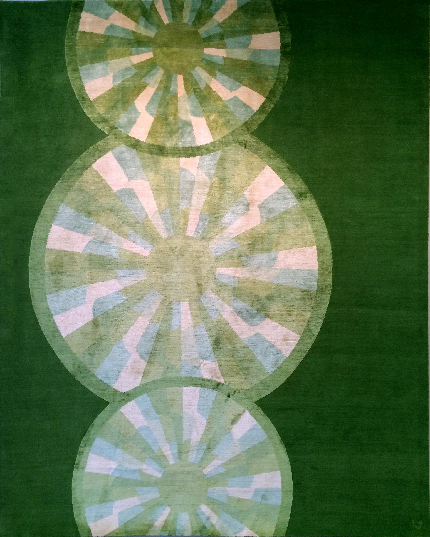 'Hoot in colour 'Emerald' by Emma Gardner Design | Image courtesy of Emma Gardner Design.