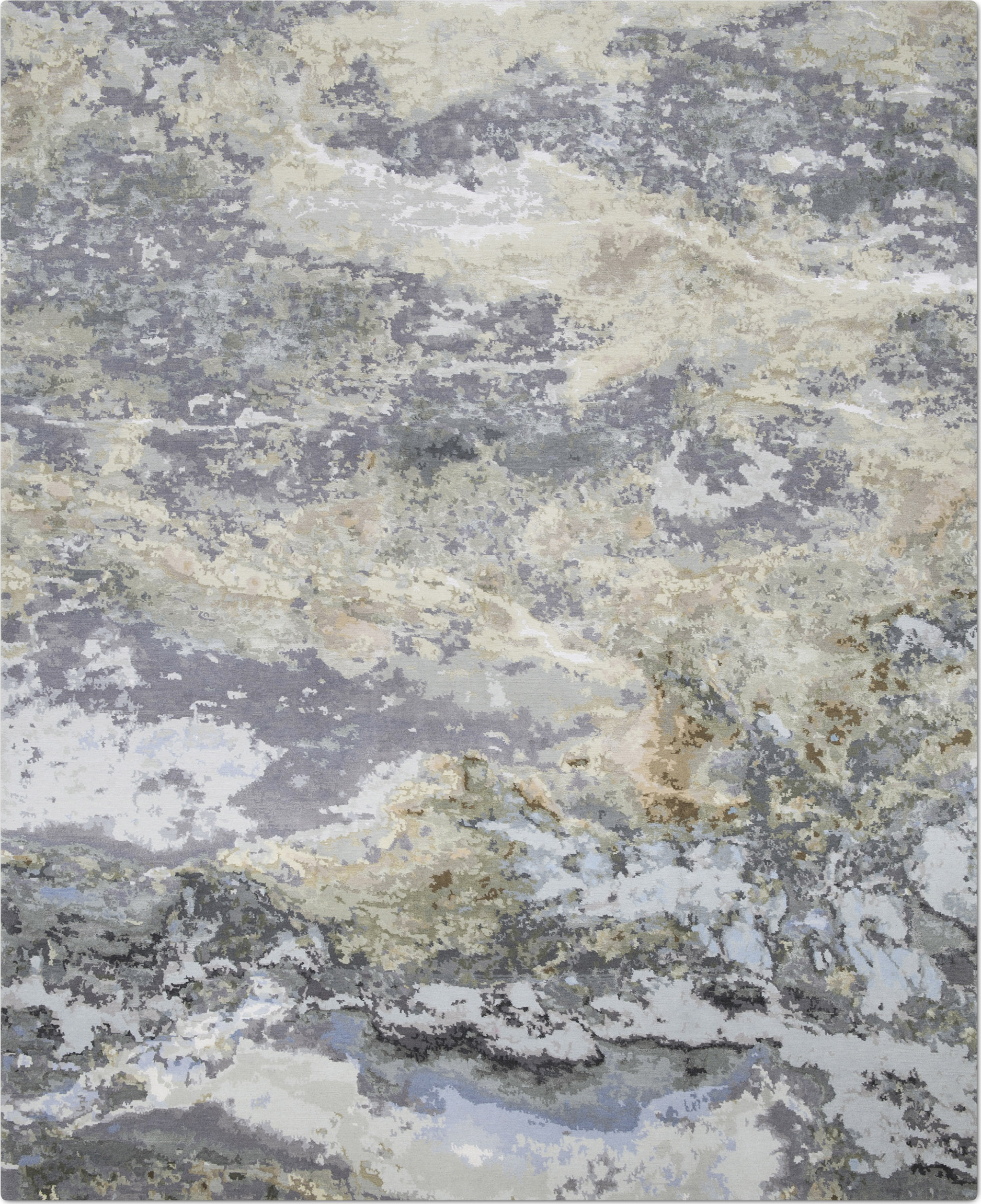 'Marble' by Knots Rugs | Image courtesy of Knots Rugs.
