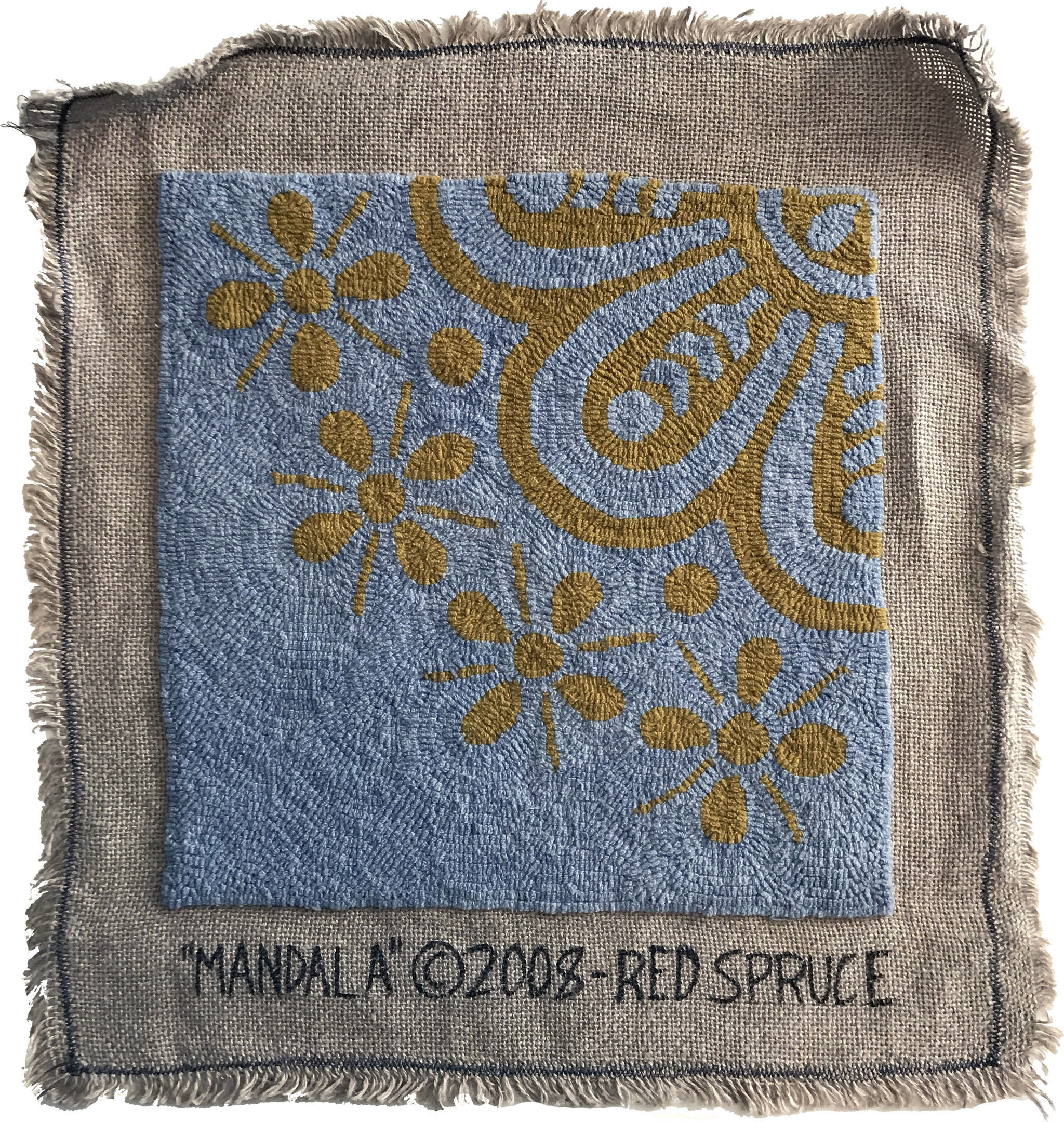 'Mandala' sample shown in the studio quality by Red Spruce. | Image: The Ruggist file.