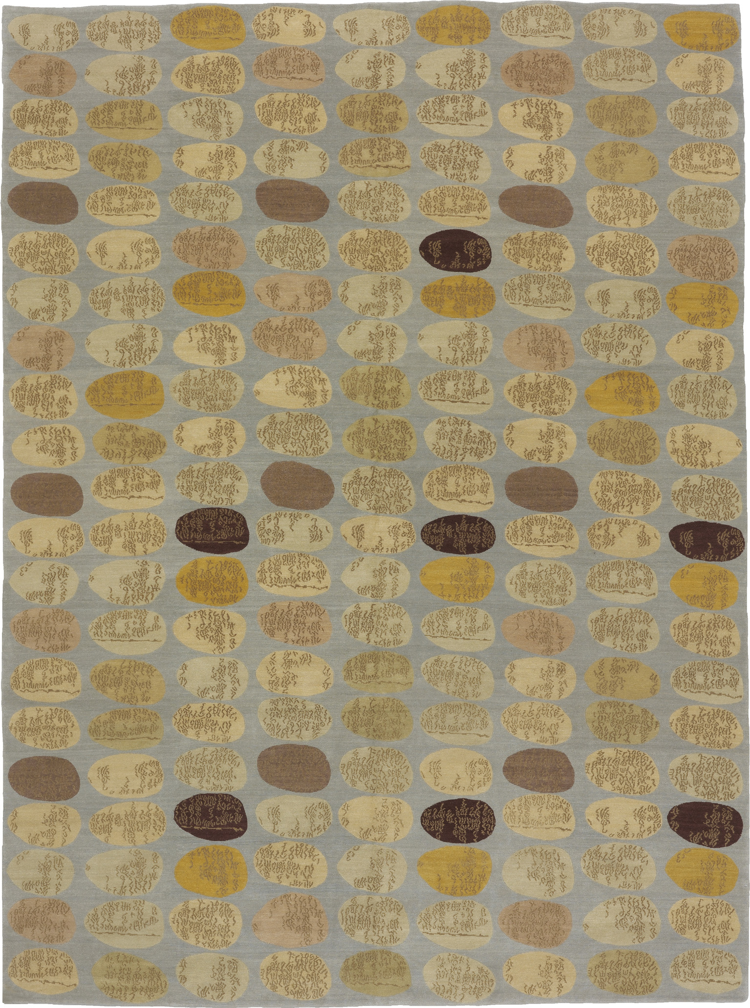 'Story Stones' from the 'Donghia for Odegard' Collection by Odegard, circa 2000 C.E.   Image courtesy of Odegard Carpets.